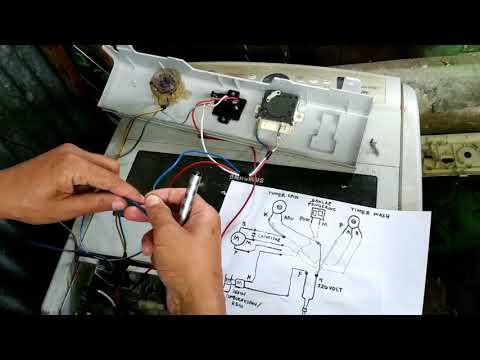 cara merubah mesin cuci otomatis menjadi manual